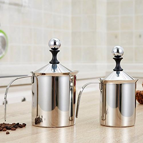 Milk Frother Pump Creamer BEMINH Double Milk Frothing Froth Pump for Chocolate