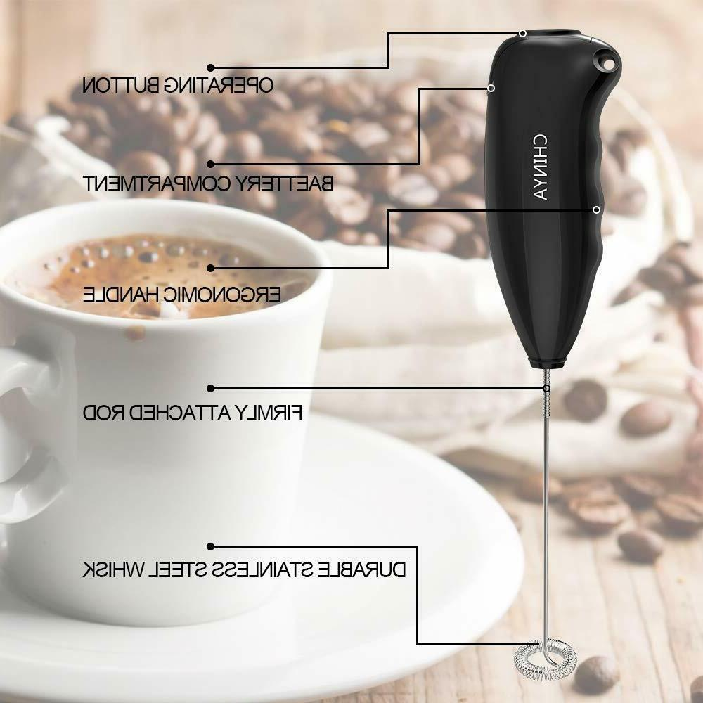 Milk Handheld Battery Operated for Coffee,