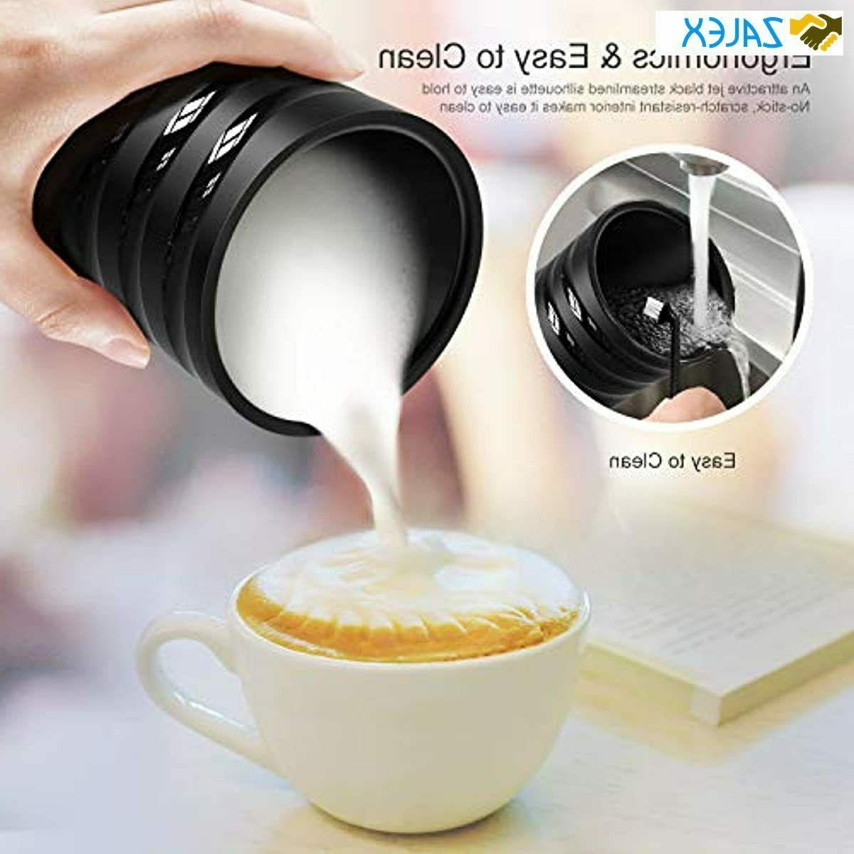 Milk Frother, Milk Steamer Maker for Cold
