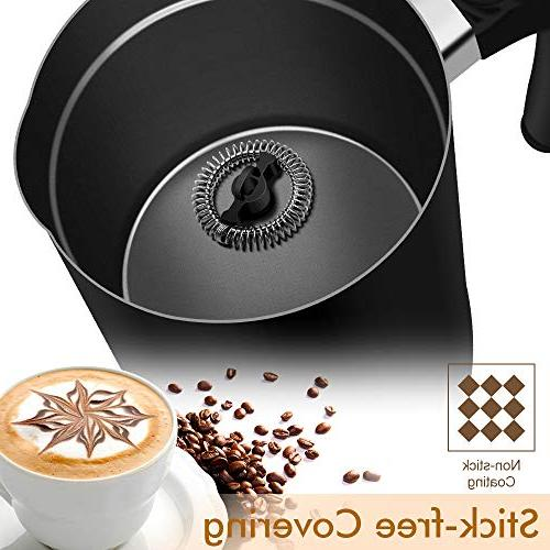Milk Automatic Steamer with Density Electric with Milk Cappuccino and