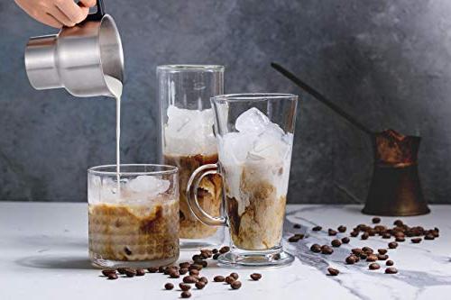 Casara Electric and Warmer Latte, Chocolate,Matcha Hot Maker Detachable Steel Jug- Dishwasher Safe, free