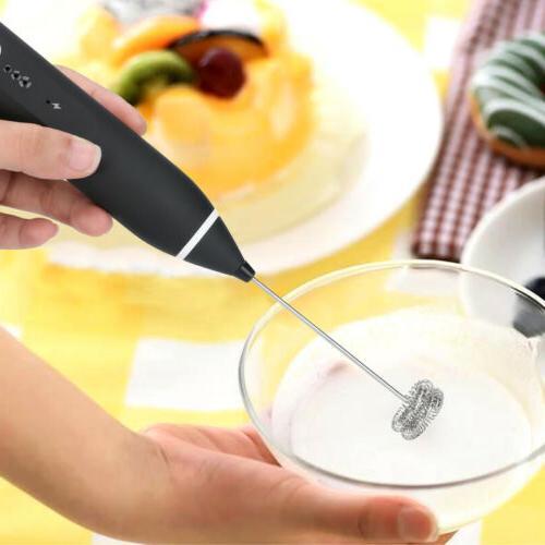 Milk Rechargeable Electric Foam Eggbeater+2