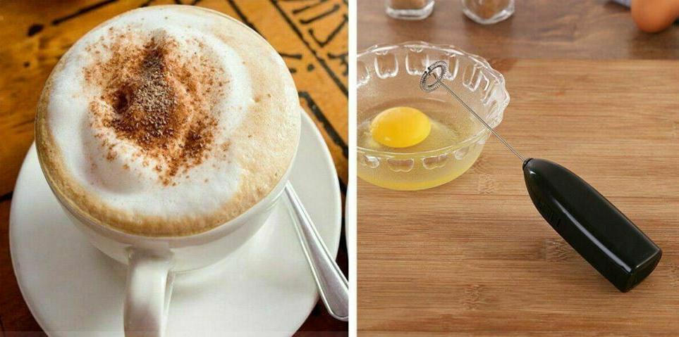 Mini Frother Milk Mixer Drink Foamer Coffee Beater Latte