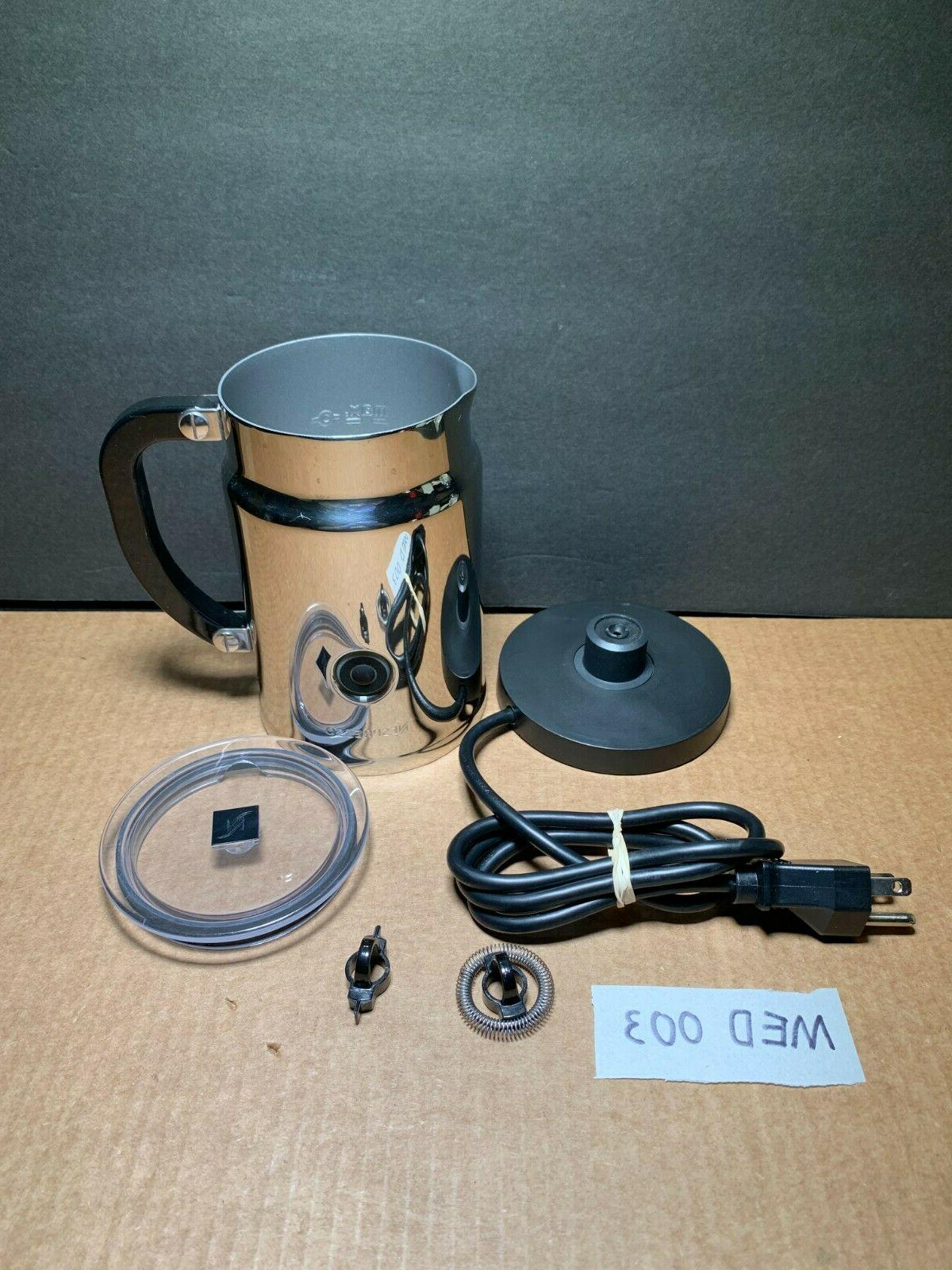 model 3192 automatic electric frother stainless steel
