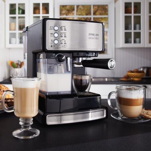 Mr. Coffee BVMC-ECMP1000-CS30 Cafe Barista Bonus Bundle,