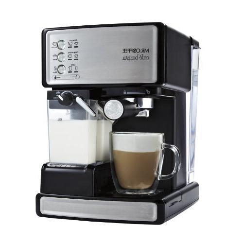 Mr. Coffee Barista Espresso Maker with Bonus Bundle, Free