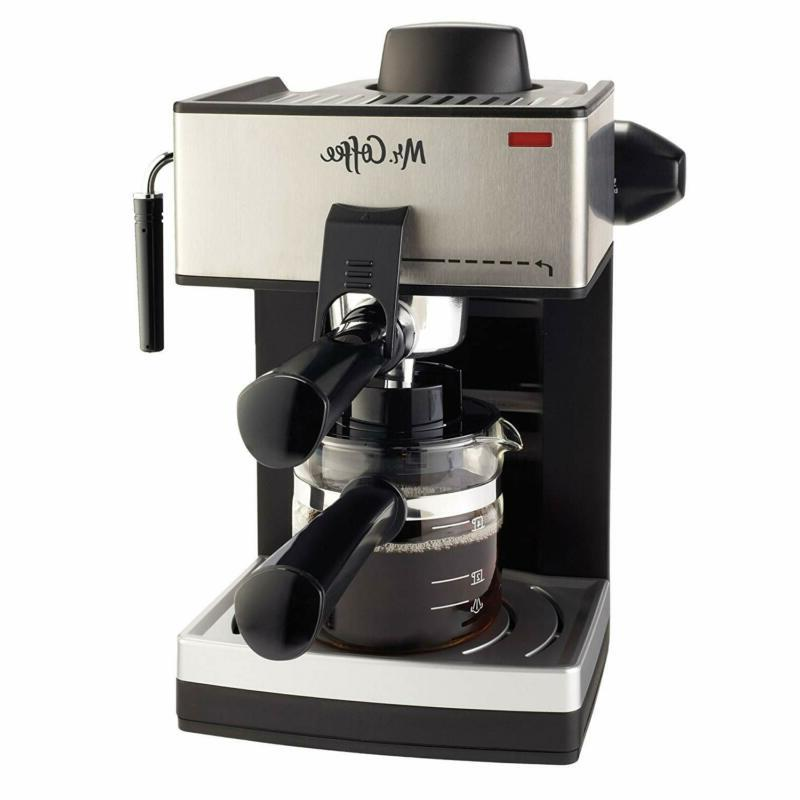 mr coffee 4 cup steam espresso system