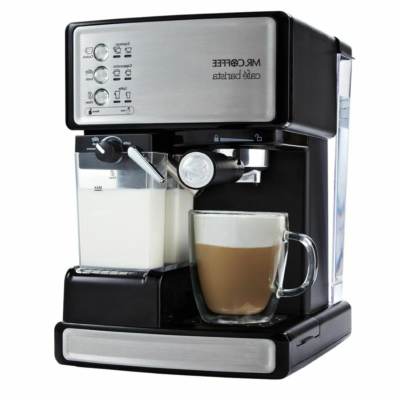 mr coffee cafe barista espresso maker