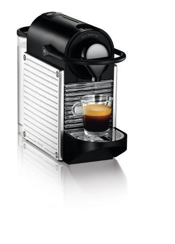 Nespresso A+C60-US-SS-NE Espresso Milk Frother, Chrome