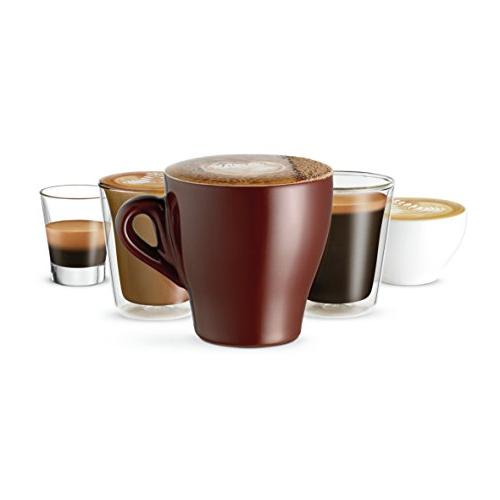 Serve Espresso with Milk Steam Wand, Black