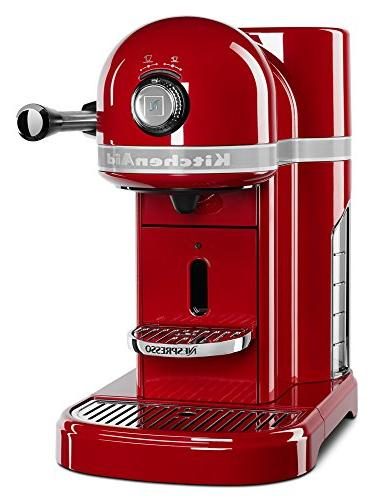 Nespresso By Kitchenaid Espresso Machine Empire Red