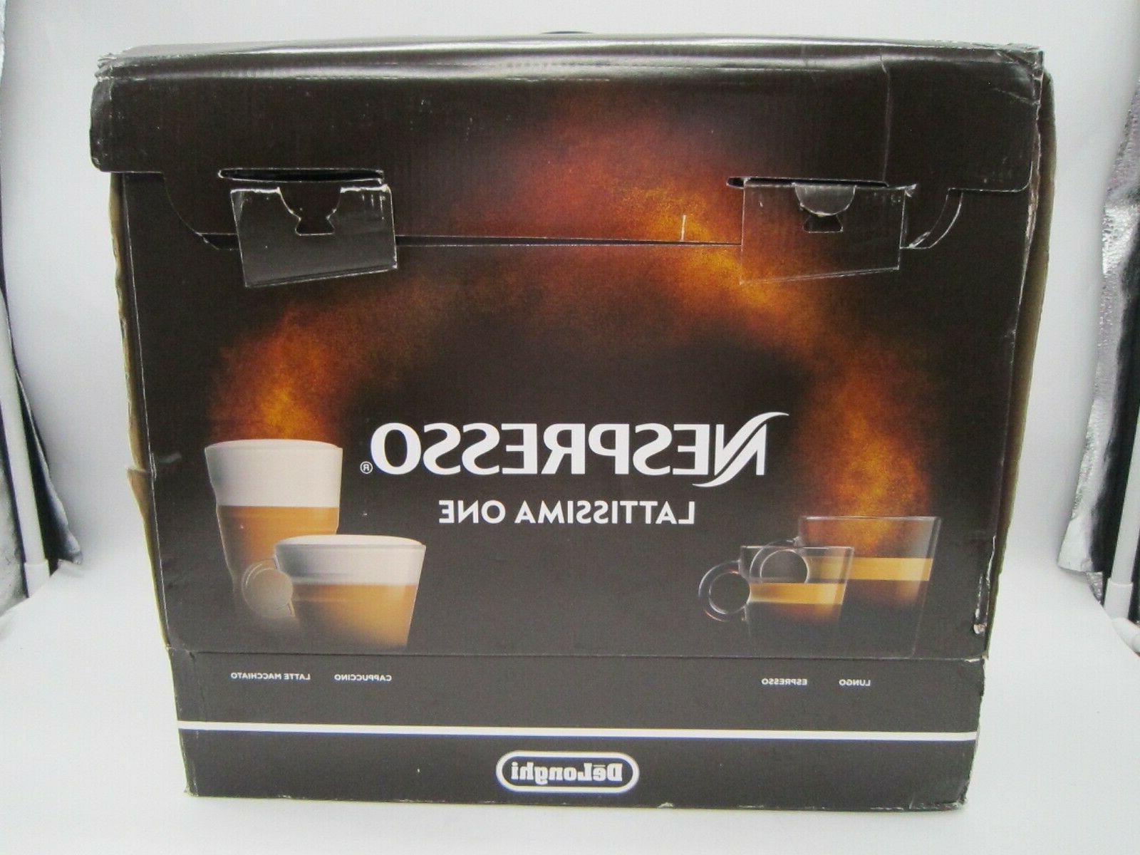 nespresso lattissima one original espresso machine