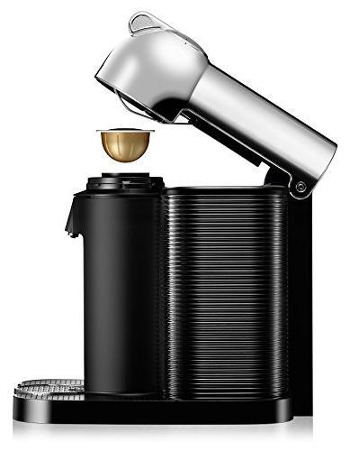 Nespresso Coffee and Espresso Bundle Breville, Chrome