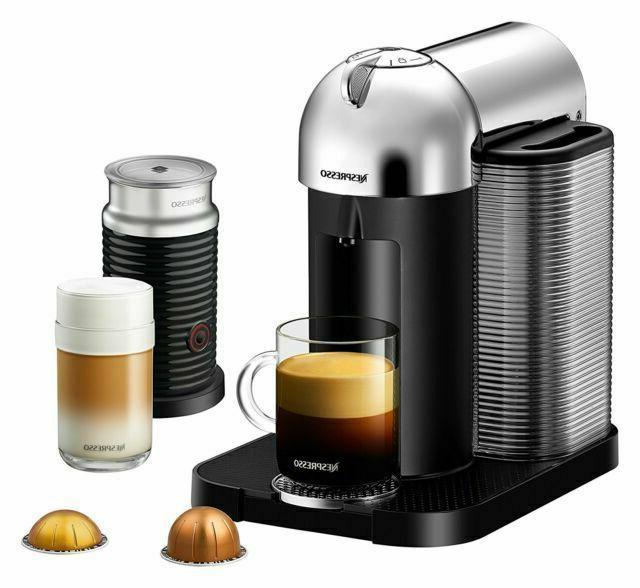 Nespresso Vertuo Espresso Aeroccino Milk Breville,