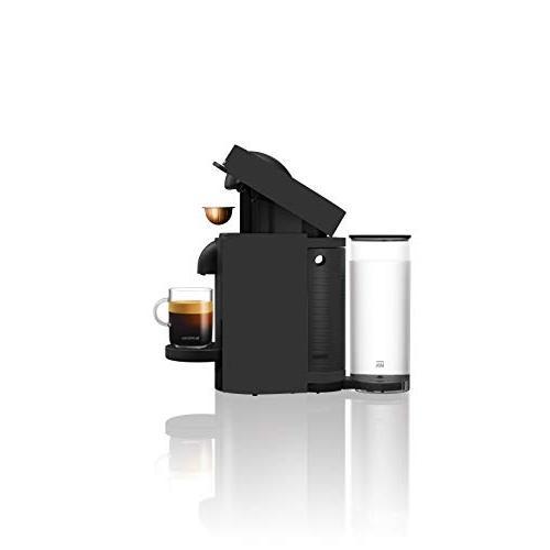 Nespresso Coffee Espresso Bundle Aeroccino De'Longhi, Matte