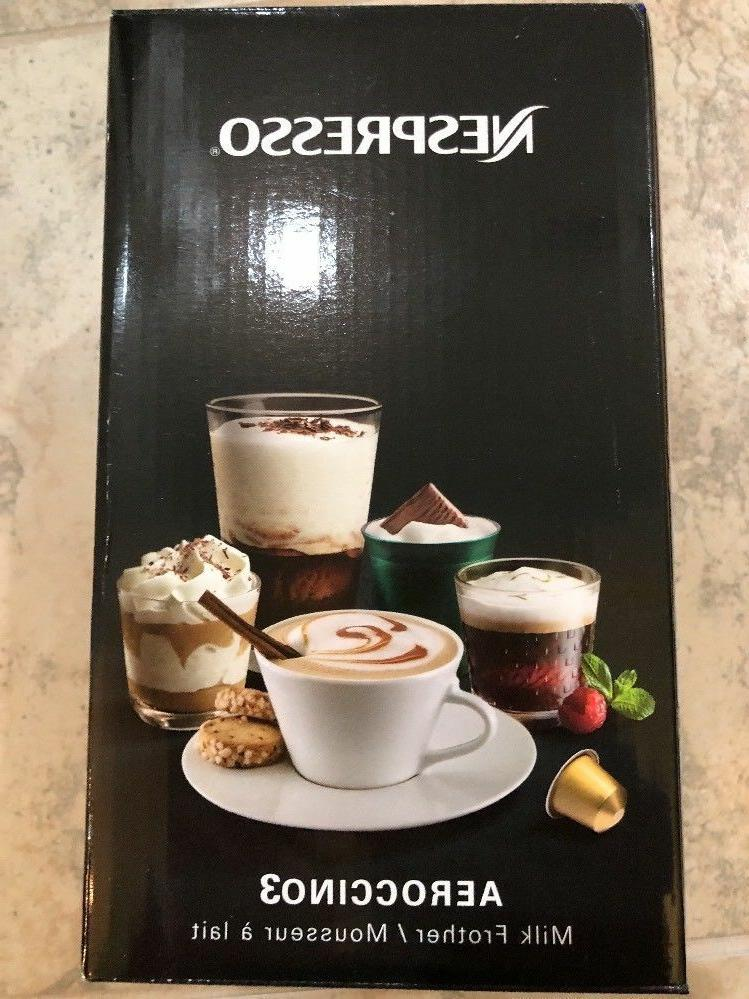 NEW Aeroccino3 Milk Black