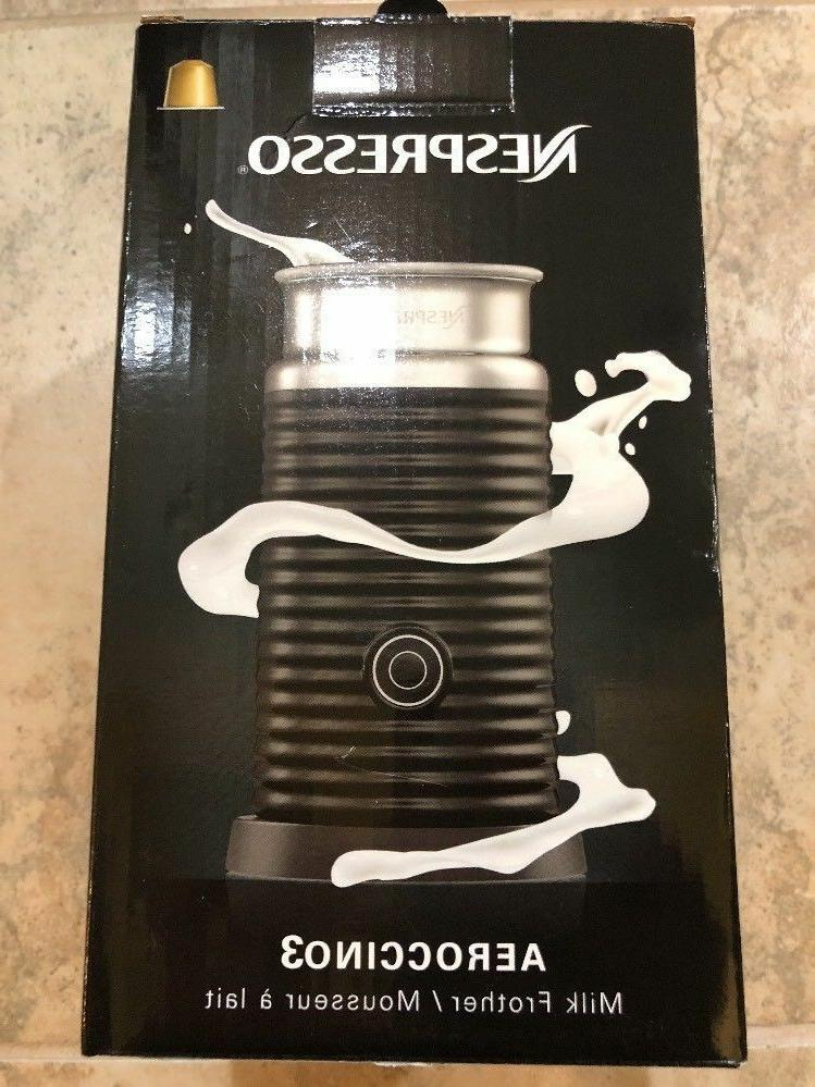 new 3694 us bk aeroccino3 milk frother