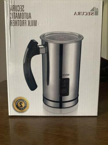 new automatic electric milk frother and warmer