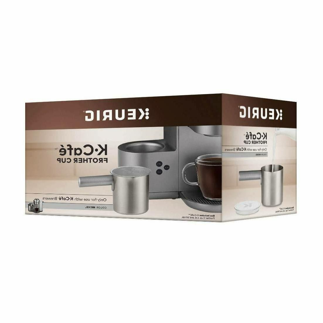 NEW Frother Cup - Nickel SHIPPING!