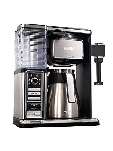Ninja Programmable Coffee 6 Sizes, 5 Brew Removable Reservoir, Stainless Carafe