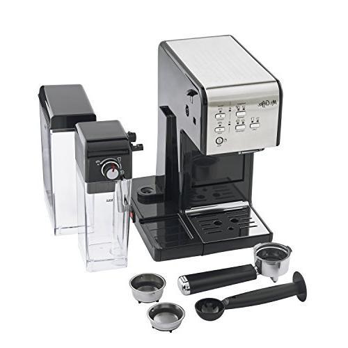 Mr. Coffee One-Touch CoffeeHouse Espresso Maker Cappuccino Machine