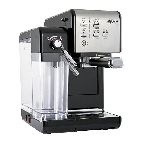 Mr. Espresso and Machine