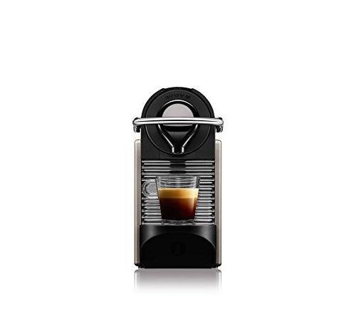 Nespresso Espresso Maker With Aeroccino Milk Frother,