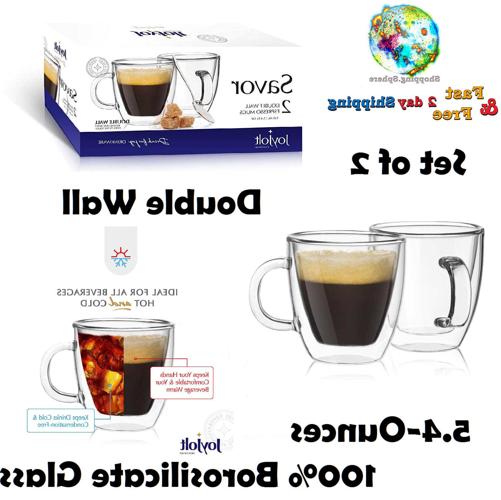 savor double wall insulated glasses