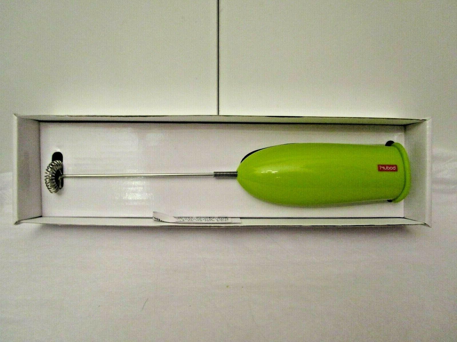 Bodum Schiuma Frother Battery Red Green White