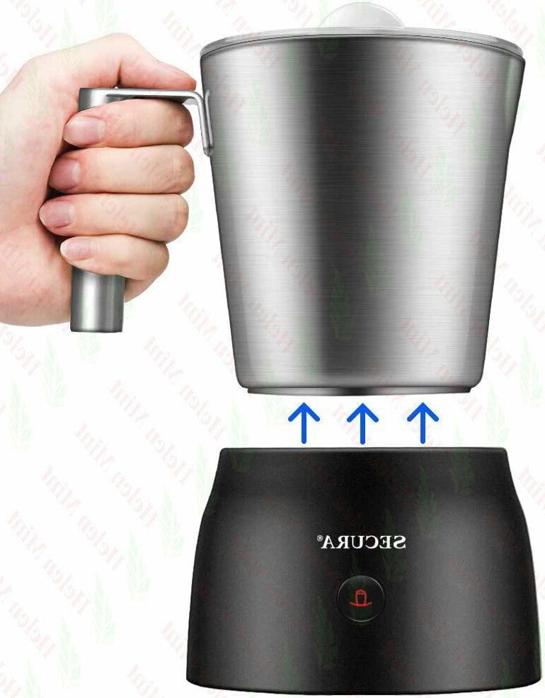 Secura in Electric Milk and Chocolate Maker Machine