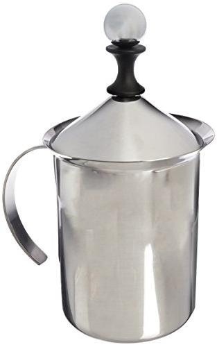 stainless steel milk frother