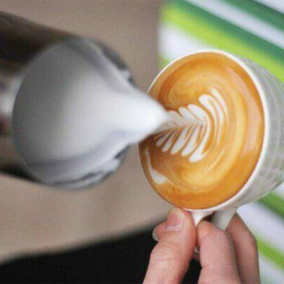 Espresso Steaming Frother Cup Latte
