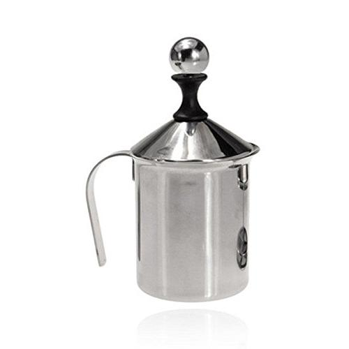 stainless steel pump milk frother