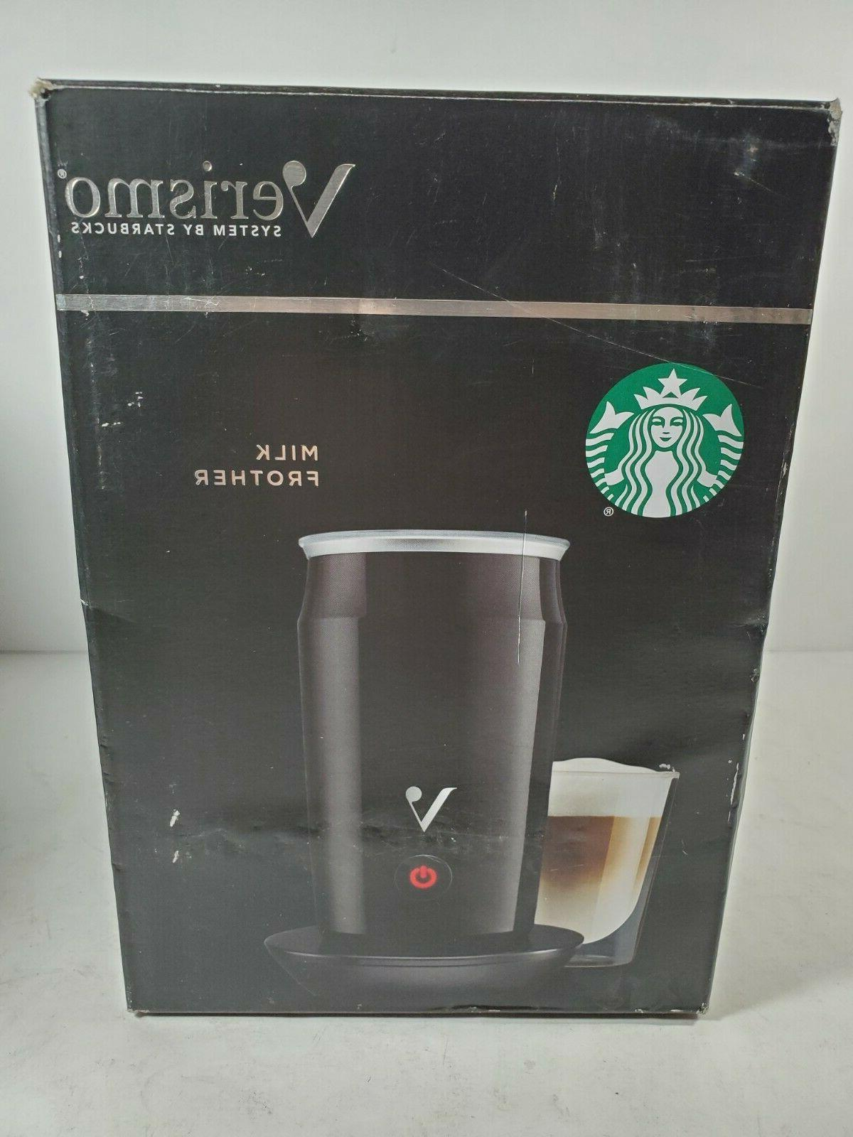 verismo electric milk frother system foamer new
