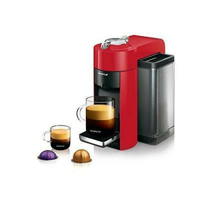 Nespresso Vertuo Coffee and Espresso Machine Aeroccino by De'Longhi,