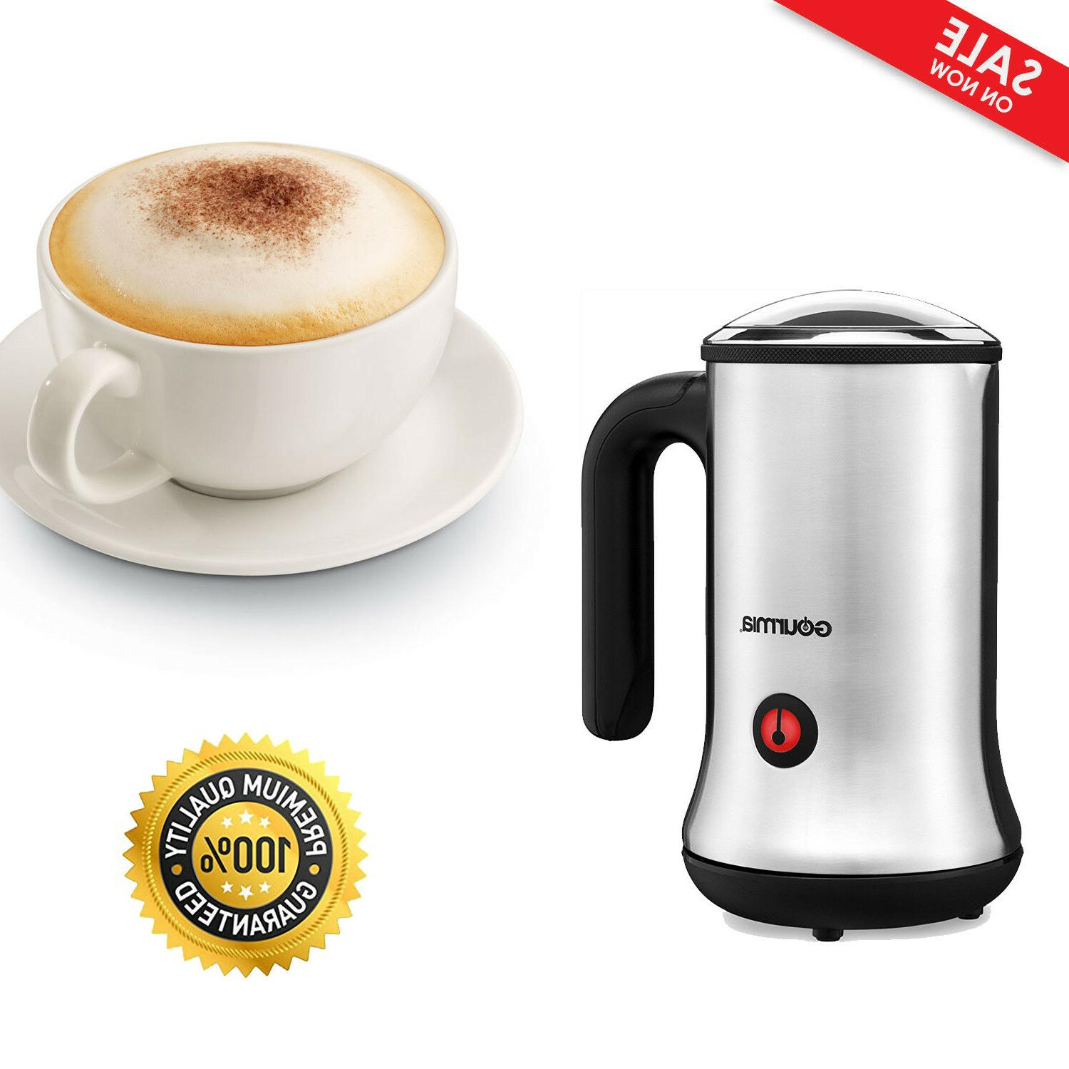 wireless automatic electric milk frother