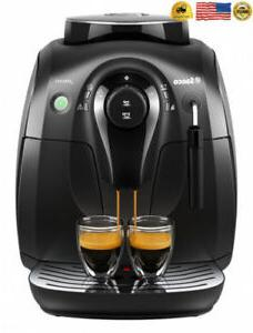 Saeco X-Small Vapore Automatic Espresso Machine, Black, HD86