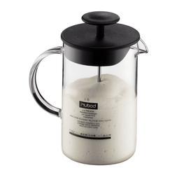 latteo milk frother borosilicate glass 250ml 8oz