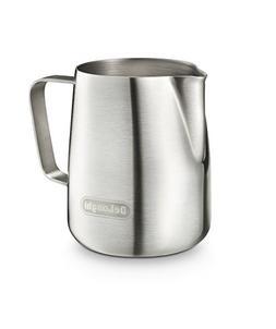 De'Longhi 5513292881 Stainless Steel Milk Frothing Jug, 4.2