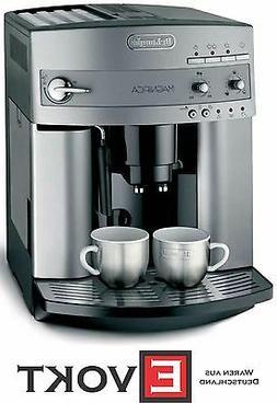 DeLonghi Magnifica ESAM 3200 Silver coffee machine, milk fro