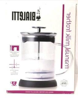 Bialetti Manual Glass Milk Frother