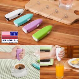 Milk Cappucino Coffee Frother Foamer Whisk Mixer Egg Beater
