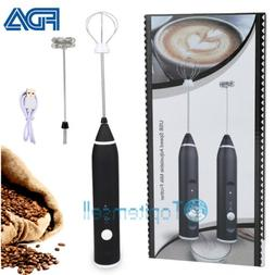 Milk Electric Frother Cordless Coffee Foamer Hand Blender Mi