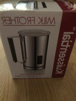 Kuissential Milk Frother Cappuccino Maker Warmer Deluxe Latt