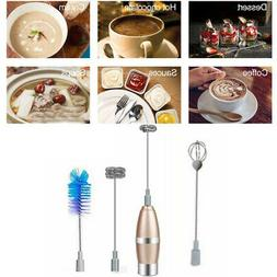 Electric Milk Frother Milk Frother Foam Mixer Beater Accesso