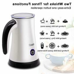Milk Frother Electric Automatic Milk Steamer Machine with So