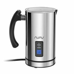 Milk Frother VAVA Electric Liquid Heater with Hot or Cold Mi