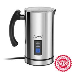 Milk Frother, Electric Liquid Heater With Hot Or Cold Milk F