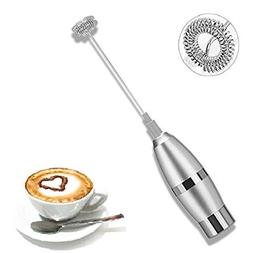 Milk Frother Handheld Milk Frother, Maker for Coffee, Latte,