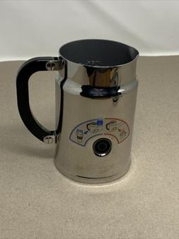 Nespresso Milk Frother Model #3192 Stainless Steel Pitcher O